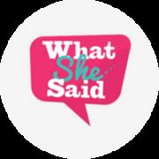 what-she-said
